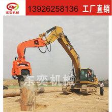 广州北奕2017新款拔桩机拔钢板桩机H型钢液压拔桩机