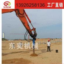 BY-AD200适配20-25吨挖机螺旋钻机钻坑机