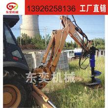 BY-AD80适配6-15吨挖机螺旋钻机钻坑机