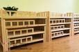 西安批發幼兒床1.3米木制床廠家定做