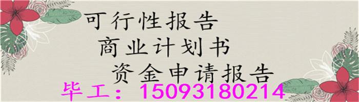 桂东县编写商业计划是内容、项目计划书