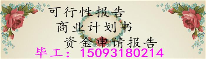 永胜县能写商业计划书、项目企划书编写