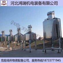 河北鸿瑞3000L标准金属量器不锈钢材质金属罐图片