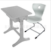 东莞升降课桌椅加厚中空学生课桌椅辅导班课桌椅塑料课桌椅厂家出口课桌椅