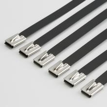 信中特厂家专业销售不锈高扎带,304喷塑不锈钢扎带,拉力强图片