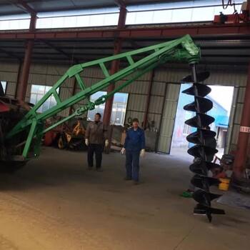 东北地区植树挖坑机钻冰机悬挂式挖坑机