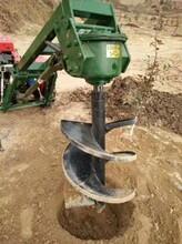 济宁旋转挖坑机大功率挖坑机厂家电线杆挖坑机植树挖坑设备图片