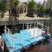 白城水上浮筒平台塑料浮筒游艇码头厂家地址