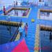 武汉水上平台塑料浮桥浮动码头厂家直销价