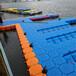 海口水上浮筒平臺塑料浮筒游艇碼頭廠家供貨