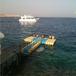 呼倫貝爾組合式浮筒釣魚平臺水面浮臺、浮橋廠家供貨