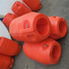 聚乙烯管道浮体8寸管道抽砂浮漂20cm孔径浮筒