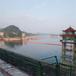 桂林電站河道攔污設備兩片式攔污浮體