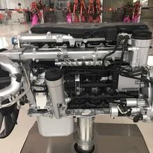 装在德国曼发动机的中国重汽