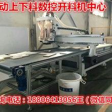 安徽宿州板式家具下料机全自动橱柜衣柜生产线