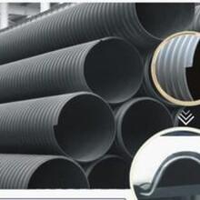 HDPE塑钢缠绕管销售生产