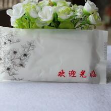 酒店餐饮一次性湿巾湿毛巾可定制印logo