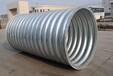 波纹涵管钢波纹涵管金属波纹涵管钢制波纹涵管规格型号