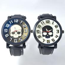 大块头手表男士运动休闲手表时尚男装表大表盘石英手表