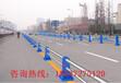 厂家直销市政道路隔离栏/隔离墩不锈钢隔离栏/人车分流护栏承接各种道路护栏工程