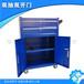 荣成市加大手柄冷轧钢板工具车承重80kg可定制工具柜图片
