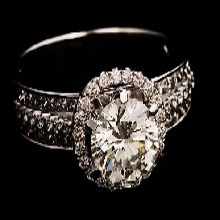 四川珠宝钻石鉴定检测中心检测一件钻石戒指真假收费图片