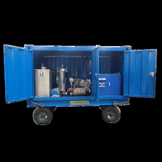 建筑外墙拉毛机700公斤高压水流清洗机除锈清洗机