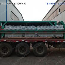 跑蓝环保板框压滤机火了PL污泥处理设备达标排放图片