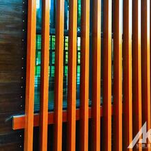 木纹铝方通吊顶的类型图片