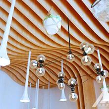 木纹型材铝方通厂家图片
