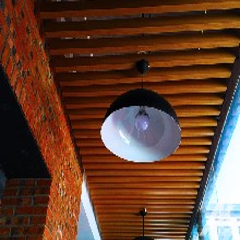 木纹铝方通吊顶厂家实在价格图片