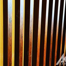 木纹铝方通定制厂家图片