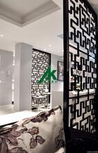 新款木纹铝窗花造型铝窗花仿古铝窗花厂家直销图片