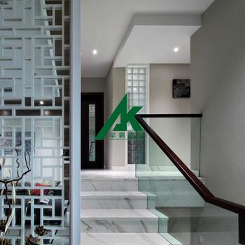 艺术复古铝窗花木纹铝窗花厂家