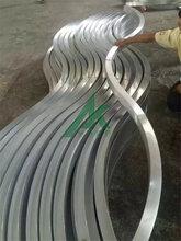 上海铝方通吊顶厂家弧形铝方通图片