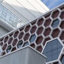 北京造型铝单板图片