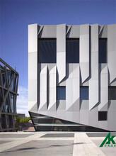 北京造型铝单板厂家图片