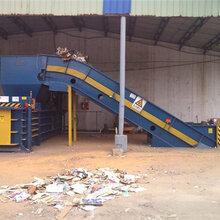 西安自动废纸打包机125吨,包型漂亮能控制吗