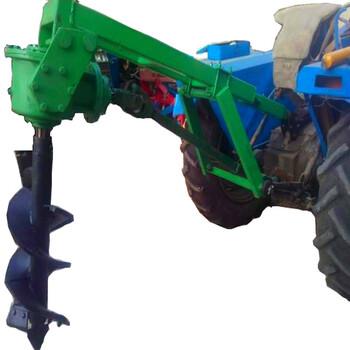 新乡农业机械大马力挖坑机果树种植挖坑机各种尺寸现货