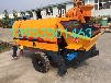 烟台大都重工40泵细石混凝土拖泵地泵大粒混凝土输送拖泵地泵