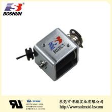 博顺产销按摩设备电磁铁BS-1230S-07、优质DC12V直流电磁铁、推拉式电磁铁