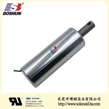 博顺产销自动化设备电磁铁BS-44119T-01、DC12V直流电磁铁、机器人、圆管式电磁铁