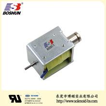 博顺产销咖啡机电磁铁BS-1550S-27、DC12V直流电磁铁、电磁铁推拉