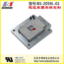 电磁铁厂家供应电压220V交流式/行程15.5mm/力量1.7公斤的自动售货机电磁铁推拉