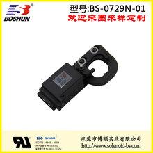 博顺厂家供应保持式电磁铁12V直流电压的卡车电控锁推拉式