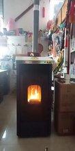 批發家用辦公室用生物質顆粒爐環保燒生物質顆粒暖風壁爐圖片