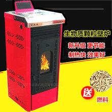 益通生物质颗粒炉地暖暖气片生物质颗粒取暖炉图片