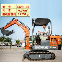 小型挖机多少钱一台新疆博尔塔拉小型挖机厂家价格