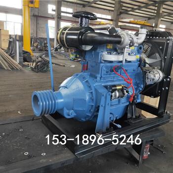 粉碎机制砂机用R4105柴油机90马力加大水箱4105发动机厂家