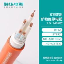 河南胜华电缆集团BTTZ/BZRZ/NG-A阻燃矿物绝缘铜芯电缆缆